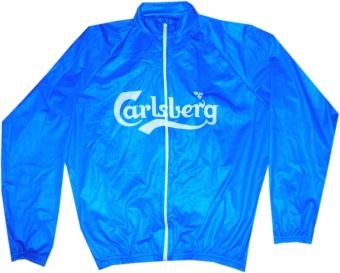 kurtka kolarska carlsberg niebieska