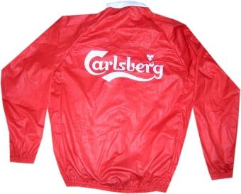 kurtka kolarska carlsberg czerwona