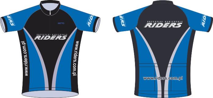 koszulki kolarskie riders