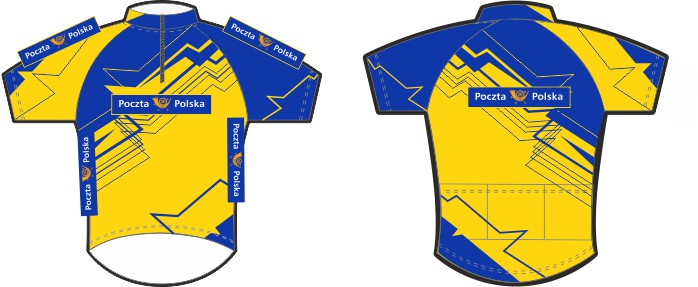 koszulki rowerowe poczta polska