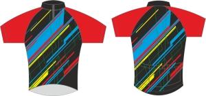 koszulka kolarska c14 metto