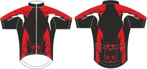 koszulka kolarska c15 metto