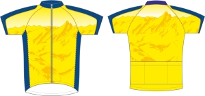 koszulka kolarska c16 metto