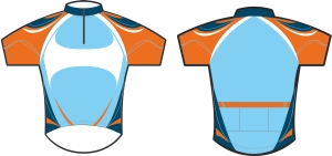 koszulka kolarska c7 metto